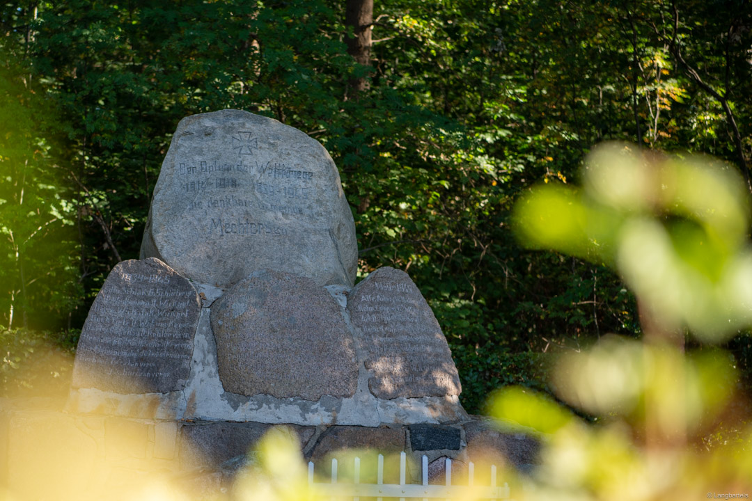 Kriegsdenkmal in Mechtersen